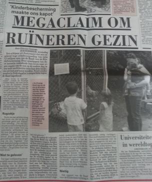 Mega claim om ruïneren gezin Megaclaim